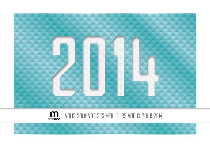 webmee - Voeux 2014