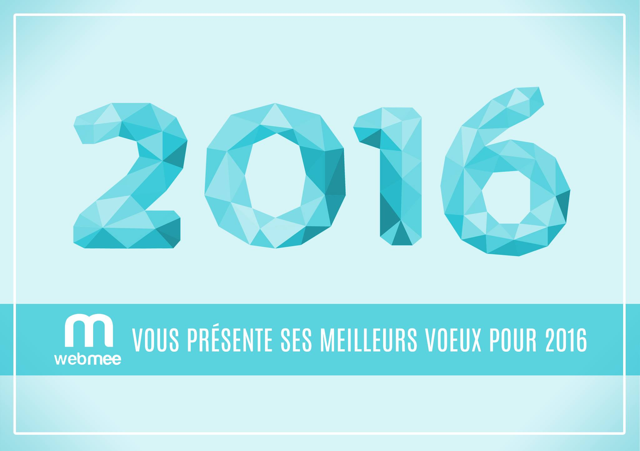 webmee - Bonne année 2016 !